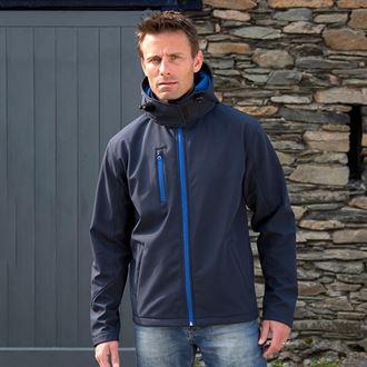 Result R230m Core Tx Performance Hooded Softshell Jacket